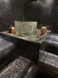 baño agua helada